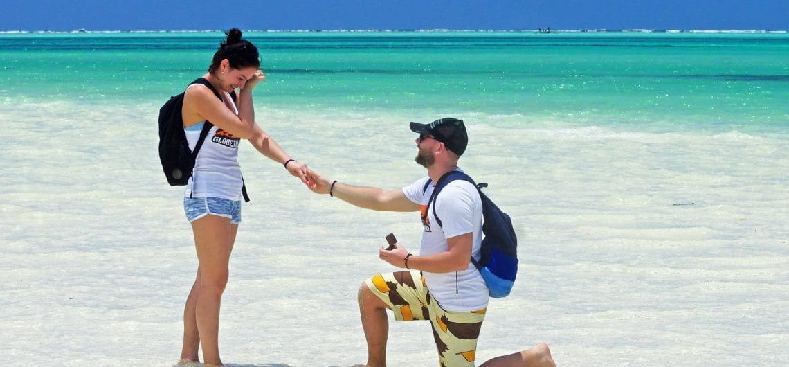 Medeni mesec putovanje Vencanje na Zanzibaru