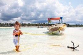 vodjenje dece na Zanzibar