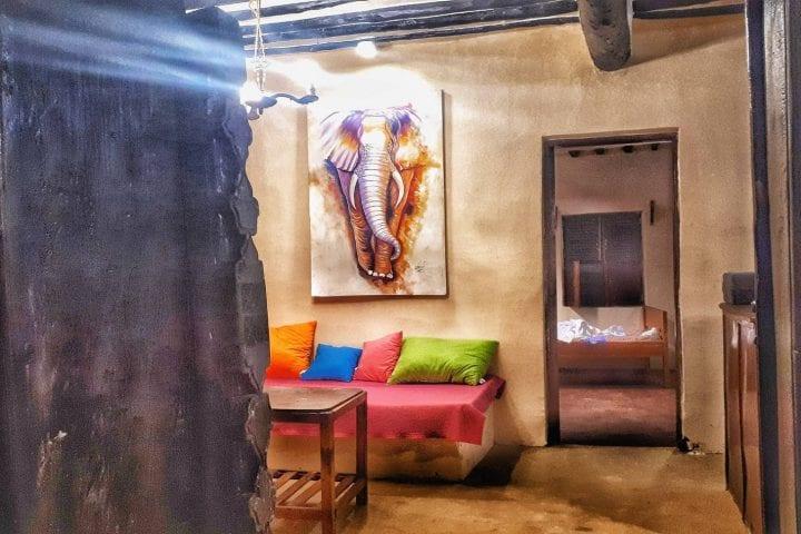 Zanzibar house budzet smestaj dnevna soba