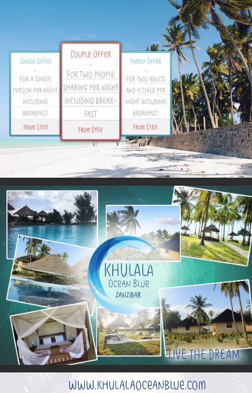 Khulala ocean blue cene